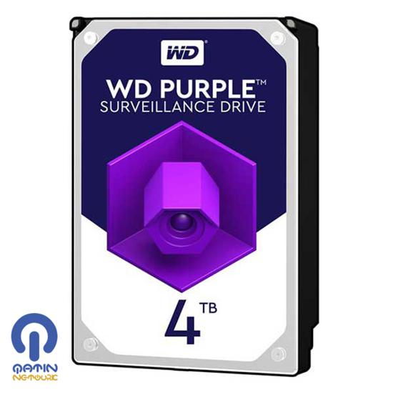هارد دیسک وسترن دیجیتال بنفش با ظرفیت 4 ترابایت
