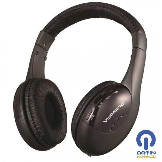Volkano headphone Freewave Series headphoneVK-WH100-BLK