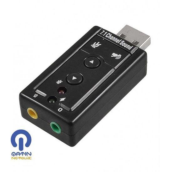 کارت صدا USB 7.1-Pnet