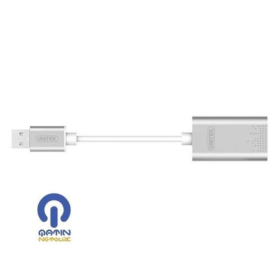 UNITEK Y-247a USB to Stereo Audio Converter