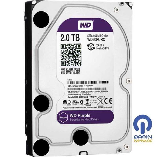 Hard Disk Western Digital Purple 2TB