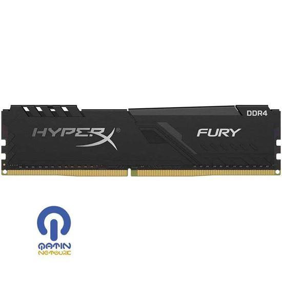 رم دسکتاپ DDR4 تک کانال هایپر ایکس 2666 مگاهرتز HyperX Fury 4GB CL16 DIMM