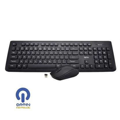 Tsco Keyboard and Mouse TKM 7018 Wireless